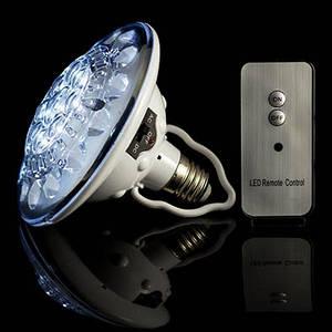 Светодиодная лампа с аккумулятором и пультом Д/У, SL-678, 23 Диода