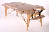Массажный деревянный стол (кушетка) 2 секции.