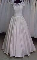"""Свадебное атласное платье """"Оливия-5"""""""
