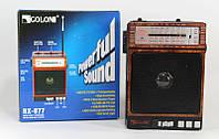Радиоприемник + фонарик GOLON RX 077, радиоприемник с МР3 плеером, аккумуляторный переносной фонарь-радио
