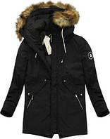 Мужская зимняя парка куртка с капюшоном