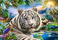 """Пазлы Castorland C-151318 """"Белый тигр"""" на 1500 элементов (C-151318), фото 2"""