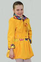 Плащ-ветровка для девочки Лада на рост 134 см, цвета в ассорт.