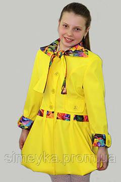 Плащ-ветровка для девочки Лада на рост 146 см, цвета в ассорт.