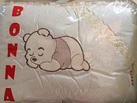 Комплект детского постельного в кроватку Винни Пух Bonna Вышивка