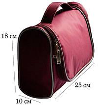 Дорожный органайзер для косметики (18*25*10 см) ORGANIZE С025 (разные цвета) , фото 2