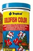 Корм TROPICAL для золотых рыб и кои Goldfish Color 21L /4kg  (хлопья) корм для молоди зол. рыб и кои