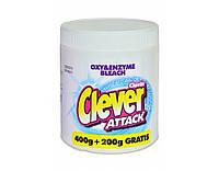 Кислородный отбеливатель-порошок Clever 600+150g