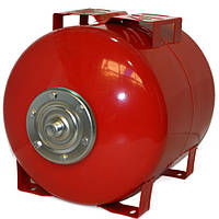 Бак для насосной станции на 50 литров. Гидроаккумулятор Польша, красный