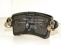 Тормозные колодки задние (диск) на Рено Мастер II 00-> RENAULT (Оригинал) 7701206763