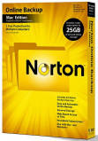 Системная утилита Symantec Norton Online Backup 2.0 25GB In 1 User Box (20097493)