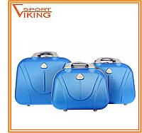 Кейс-набор сумок дорожных RGL (3 в 1) поликарбон. Разные цвета., фото 1