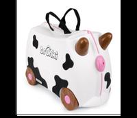 Чемоданчик детский на колесах коровка Frieda