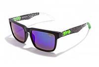 Солнцезащитные очки Spy+ Ken Block Helm grey spider (Модель № 16)
