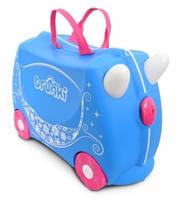 Чемоданчик детский дорожныйнак на колесах  Pearl