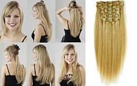 Волосы на трессах Натуральные 40 см