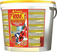 Корм для прудовых рыб KOI & Gold Super COLOR Sticks 21L/2.5kg TROPICAL