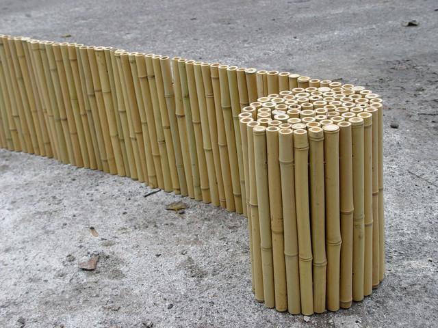 Заборы из бамбука