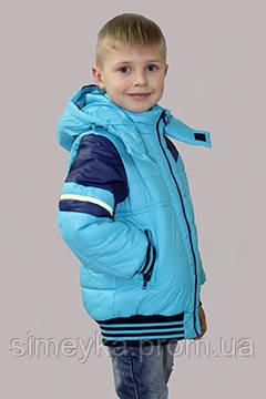 Куртка для мальчика демисезонная Пилот на рост 116 см, цвета в ассорт.