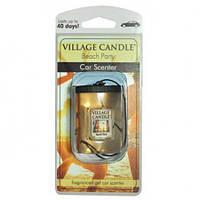 """Гелевый ароматизатор для авто Village Candle """"Вечеринка на пляже"""""""