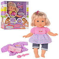 """Кукла-пупс Беби """"Мамино Солнышко"""" М 1172, сенсорная кукла, говорит 14 фраз, Baby"""