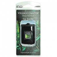 """Гелевый ароматизатор для авто Village Candle """"Черный бамбук"""""""