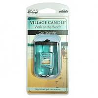 """Гелевый ароматизатор для авто Village Candle """"Прогулка по пляжу"""""""