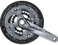 Шатуны FC-M4060  Shimano ALIVIO, 9ск. интегр.ось, 175мм, 48x36x26, защита, без компон. каретки