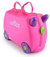 Чемоданчик детский дорожный на колесах Trixi