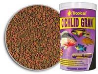 КОРМ для цихлид Cichlid Gran 10L /5,5kg  гранул.корм д/цихлид, усил.цвета TROPICAL