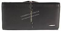 Стильный женский классический кожаный кошелек высокого качества SALFEITE art. 55581SL-N черный, фото 1