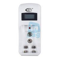 Зарядное устройство BTY C902 с дисплеем для аккумуляторов AA / AAA / 9V  Ni-Cd / Ni-MH.