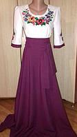 Женские вышитые платья, костюмы