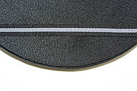 ТЖ 10мм репс (50м) черный+св.серый , фото 1