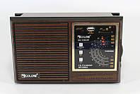 Портативная колонка радиоприемник GOLON RX 133, радиоприемник с mp3 плеером и usb