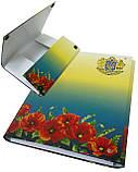 Папка-короб на липучке АКАДЕМИЯ, А4, 40 мм, полноцветная, PP-покрытие, фото 2