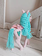мягкая игрушка лошадка  Rosy handmade