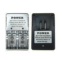 Зарядное устройство PR-828A для аккумуляторов AA / AAA / 9V / Ni-Cd / Ni-MH.