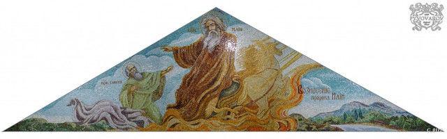Иконы из мозаики