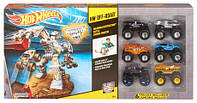 Hot Wheels Monster Jam Максимальное разрушение 6 машинок Ultimate Max-D Bundle DFM18