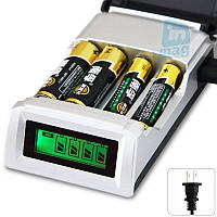 Зарядное устройство C905W с дисплеем для аккумуляторов AA / AAA Ni-Cd / Ni-MH.