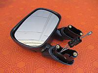 Зеркало боковое заднего вида на Fiat Doblo 1.6B (Фиат Добло) 2001-2010 г.в. левое