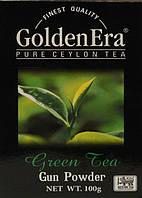 Чай зеленый GOLDEN ERA Gun Powder упаковка 100г (40шт*1ящ)