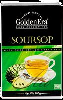 Чай зеленый GOLDEN ERA с саусепом упаковка 100г (40шт*1ящ)