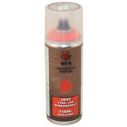 Краска спрей, красный MFH 27375N, фото 2