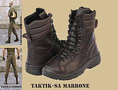 """ZENKIS берци мілітарні """"TAKTIK-SA"""" (U1-570) - MARRONE"""
