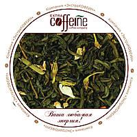 Чай зелёный с лепестками жасмина