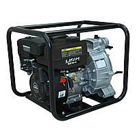 Мотопомпа бензиновая LIFAN 80WG (72 м3/час), для грязной воды