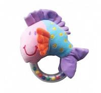Игрушка - погремушка мягкая рыбка Eurobaby 7812