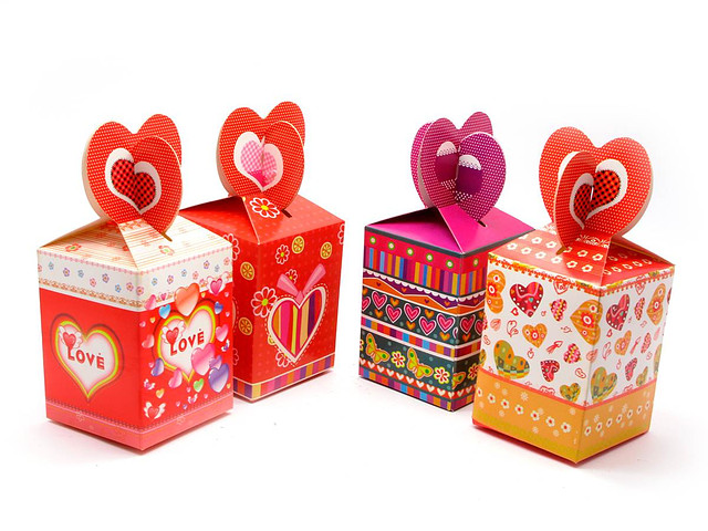 """Подарочная коробка для небольших товаров """"Love-3"""""""